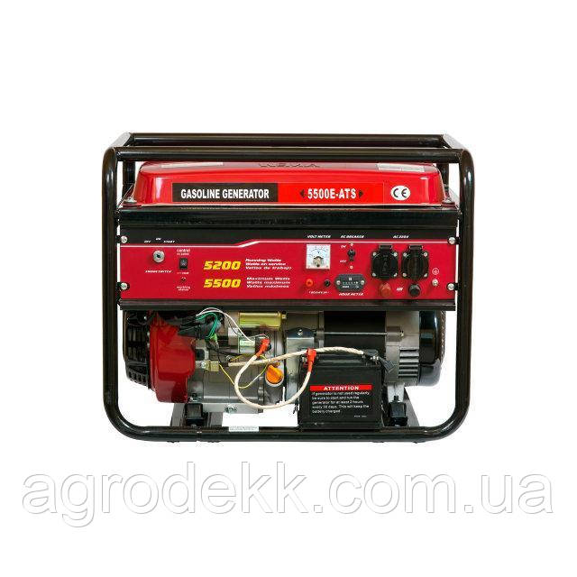 Генератор однофазный бензиновый Weima WM5500 ATS (5,5 кВт)