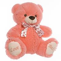 Детская мягкая игрушка, плюшевый мишка Любимчик Розовый