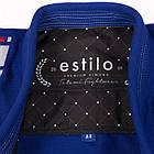 Кимоно для Бразильского Джиу Джитсу TATAMI Estilo 6.0 Premier Синее с Белым, фото 5