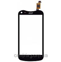 Тачскрин (сенсор) для Acer V370 Liquid E2 Duo асер, цвет черный