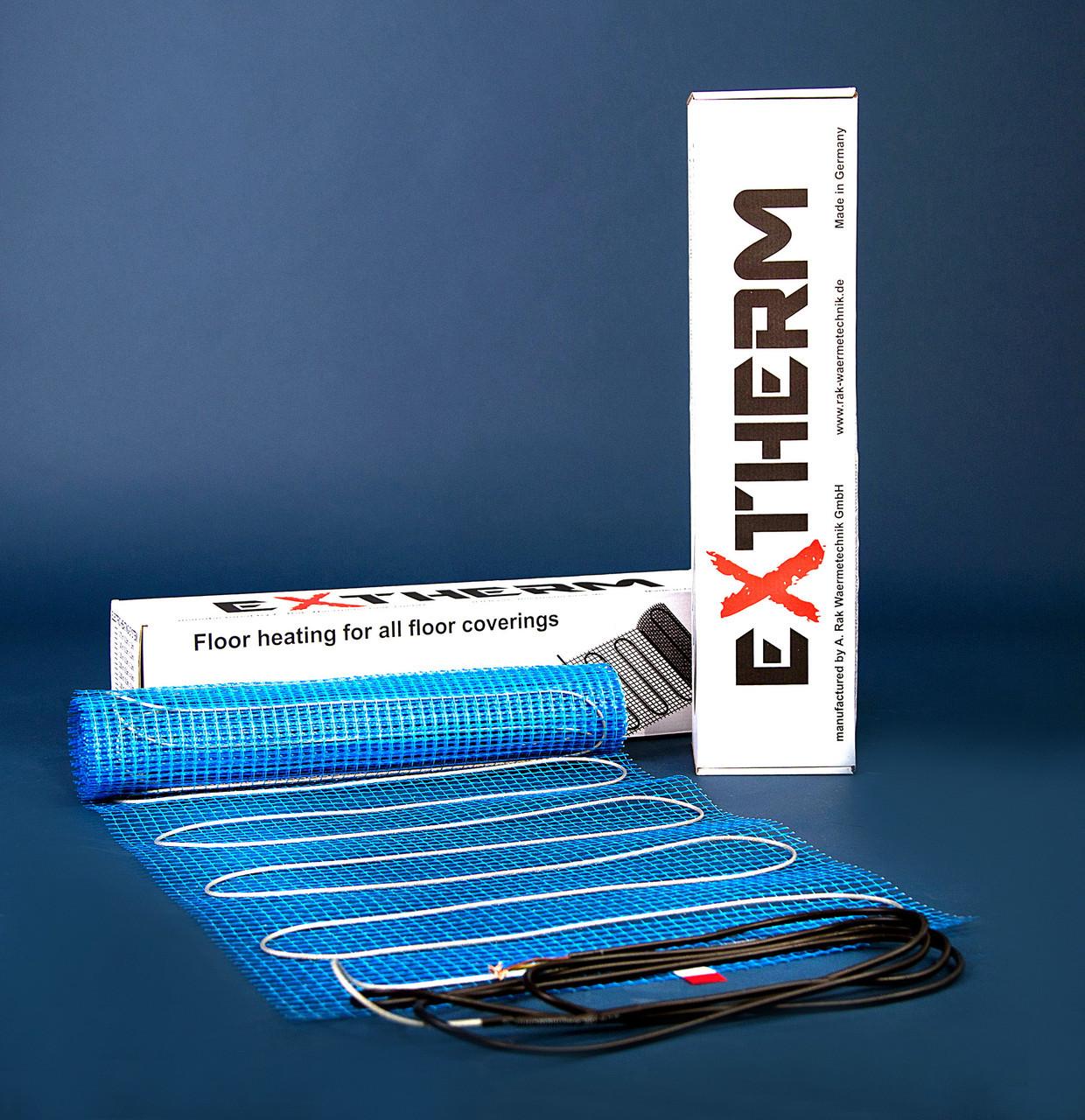 Нагревательный мат двухжильный EXTHERM ET ECO 050-180 Размер 500х1000 мм Мощность 90 Вт. Класс защиты IPX7