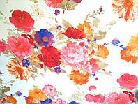"""Обои флизелиновые  """"В цветочек, Прованс"""" в спальню, ярко-розовые, 1 Х 10 – Vinil 6-0996"""