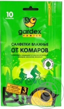 Gardex Family Салфетки влажные от комаров (24)