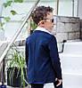 Костюм школьный для мальчика темно синий с абстракцией, из турецкой дорогой костюмной ткани 122-152, фото 2