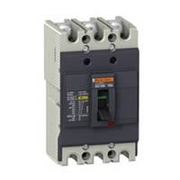 Автоматический выключатель EZC100 100А 380В 3Р
