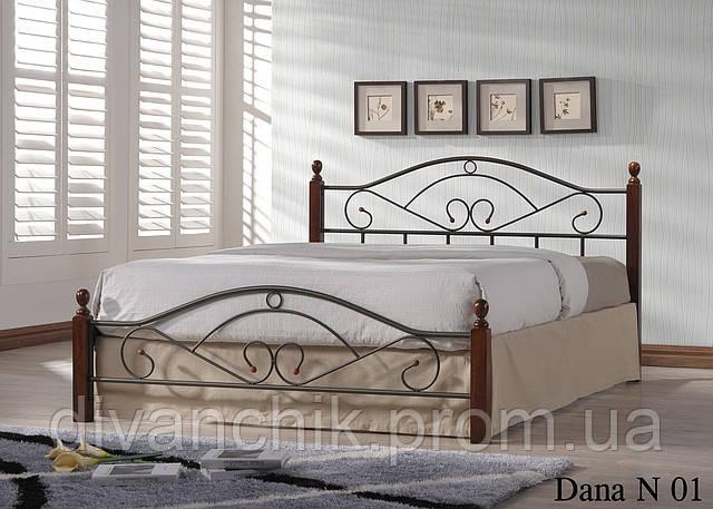 Кровать Dana N 01 140 х 200  - Салон «ДИВАНЧИК» в Черкассах