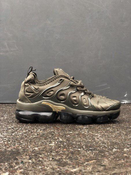 Мужские кроссовки в стиле Nike VaporMax TN Khaki (41, 42, 43, 44, 45 размеры)