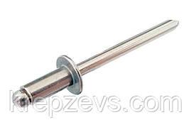Заклепка Ф3 DIN 7337 со стандартным буртиком нержавеющая