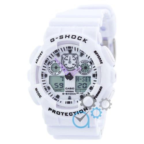 Наручные часы в стиле Casio G-Shock GA-100 White