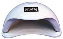 Гибридная светодиодная UV/LED лампа SUN 5 на 48 вт/24 (Сан ван ) с таймером 10,30,60 сек. Белая.