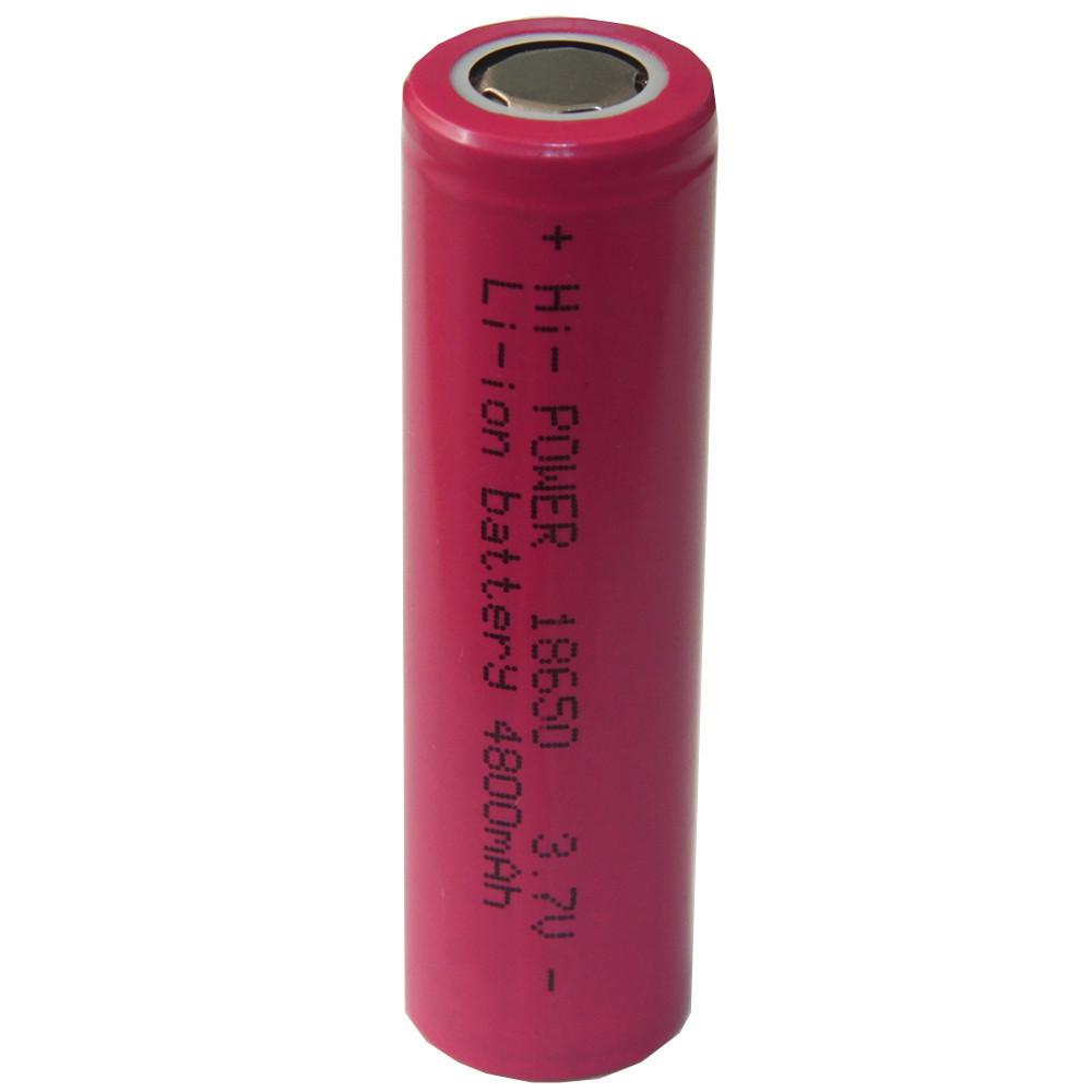 Аккумулятор для электронных сигарет 18650 реальная емкость 4800 mAh
