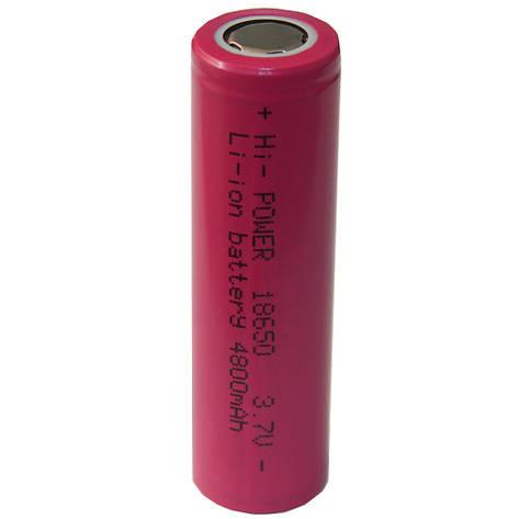 Аккумулятор для электронных сигарет 18650 реальная емкость 4800 mAh, фото 2