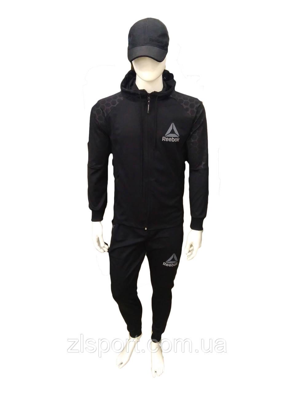 acdb6a538 Мужской спортивный костюм Reebok с капюшоном (Турция) - Интернет магазин спортивной  одежды