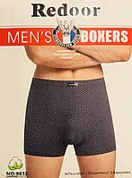 Трусы мужские боксёры хлопок + бамбук Redoor размер XL-4XL(46-56) 9012