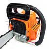Бензопила Eurotec GA 107C, 2.4 кВт, 45 см, бензиновая цепная пила, мотопила для дома, бензо пила, фото 3