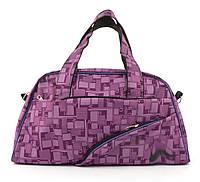 Спортивная женская средняя тканевая сумка art, 128-2 Украина (102813) розовая, фото 1