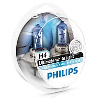 Галогенная лампа Philips H4 DiamondVision 12V 12342DVS2 (2шт.)