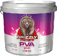 Клей ПВА Grizzly 5 кг