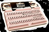 Ресницы пучковые 10мм (medium) Salon Professional