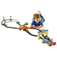 Томас и друзья железная дорога Thomas & Friends Fisher-Price TrackMaster, Thomas & Percy's Railway Race Set