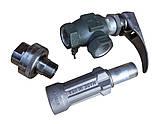 Струбцина для слива, налива газовоза Rego A7708L+7575L4+ поворотное соединение, фото 2