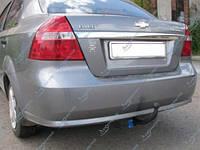Фаркоп сварной усиленный Chevrolet Aveo 3 Седан (2008-2011) 250/255