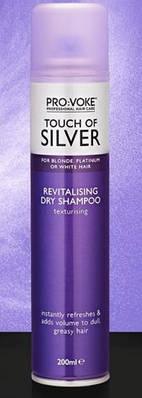 Сухой шампунь для волос восстанавливающий PRO:VOKE Touch of Silver Revitalising Dry Shampoo 200 ml