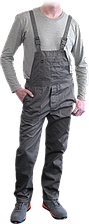 Рабочий полукомбинезон YES-B S (спецодежда, униформа, роба)  Reis Польша