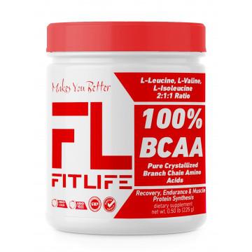 Амінокислоти FitLife 100% BCAA 225 g