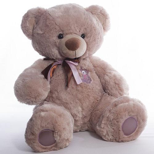 Мягкая игрушка Медвежонок Бублик 01 42 см Копиця 21003-0
