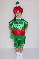 """Карнавальный костюм """"Вишенка №1"""" на возраст от 3 до 6 лет"""