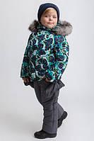 Зимний комбинезон для мальчика KM-1 Принт 14
