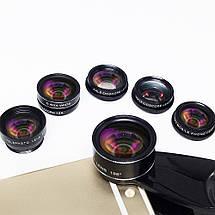 Набор объективов для телефона 7 в 1 с оптических линз, фото 2