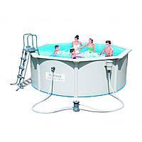Сборный бассейн Bestway Hydrium 56571 (360x120) с картриджным фильтром, фото 1