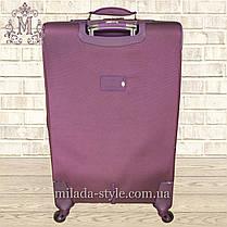 Чемодан средний M 4 колеса(фиолетовый), фото 3