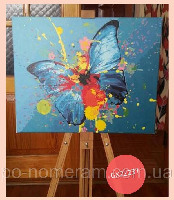 картина своими руками бабочка