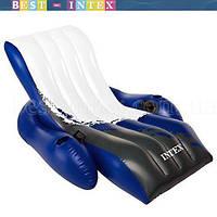 Intex 58868 (180х135 см.) Пляжное надувное кресло для воды
