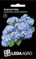 Семена агератума Леда, 0,2 гр., двухцветный