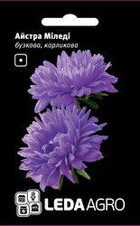Семена астры Миледи, 0,2 гр., карликовая, сиреневая