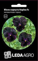 Семена виолы Корина F1, 10 сем., бархатно-черная