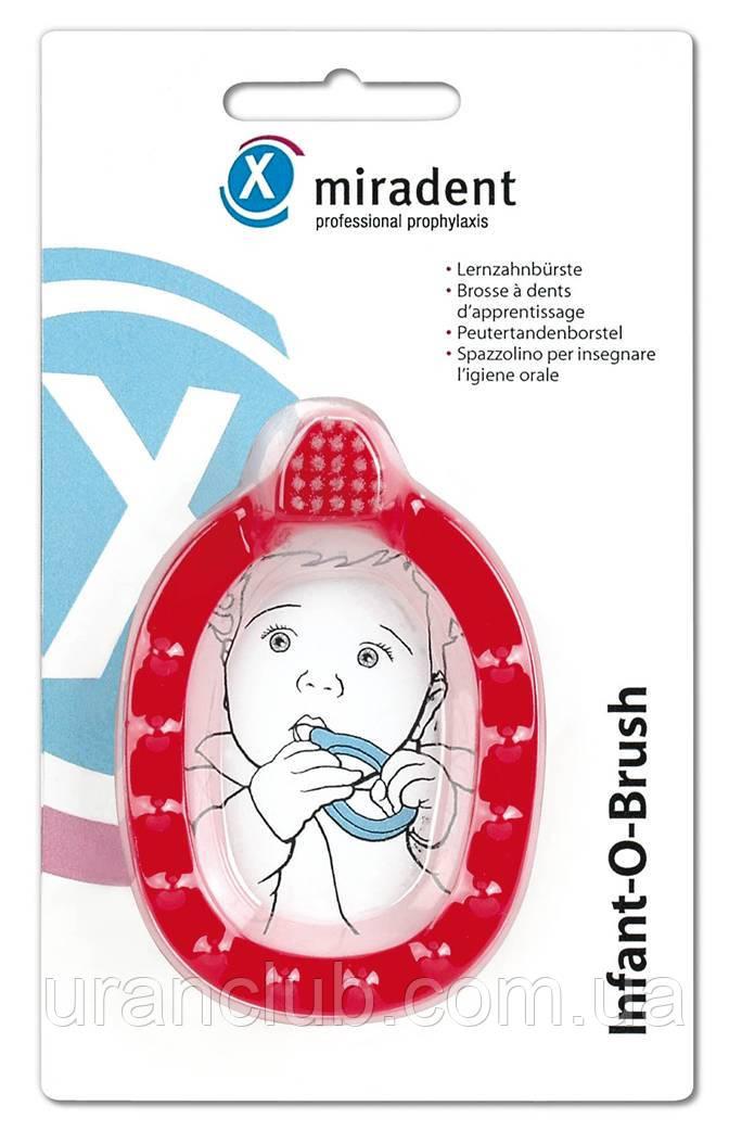 ЗУБНАЯ ЩЁТКА-ПРОРЕЗЫВАТЕЛЬ INFANT-O-BRUSH,(ИНФАНТ О БРАШ)