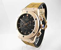 Часы Hublot Fusion Classic Rose Gold Black 42mm (Механика). Реплика 8726490962524