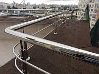 Перила ограждения Лестницы из нержавеющей стали Стеклянные ограждения (перила из стекла) балконов, террас