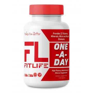 Витамины комплексные FitLife One-A-Day 100 tabs