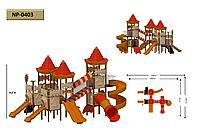 Детская игровая площадка 0403
