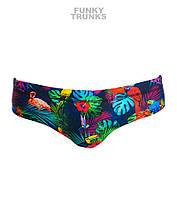 Распродажа! Хлоростойкие мужские плавки Funky Trunks Tropic Team FT35 L