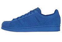 """Мужские кроссовки Adidas Superstar RT """"Blue Suede"""""""