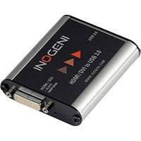 Устройство записи видеоизображения карта видеозахвата INOGENI DVI HDMI to USB 3.0