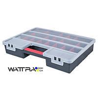 ⭐ Органайзер (90004) Haisser XL пластиковый с регулируемыми секциями 26 отделений 460х325х80 мм