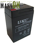Аккумулятор UKC 6V 4Ah,  WST-4.5 RB640B